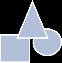 hellblaues Symbol